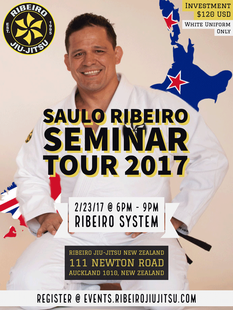 Saulo Ribeiro Seminar Tour | New Zealand - Events - Universe