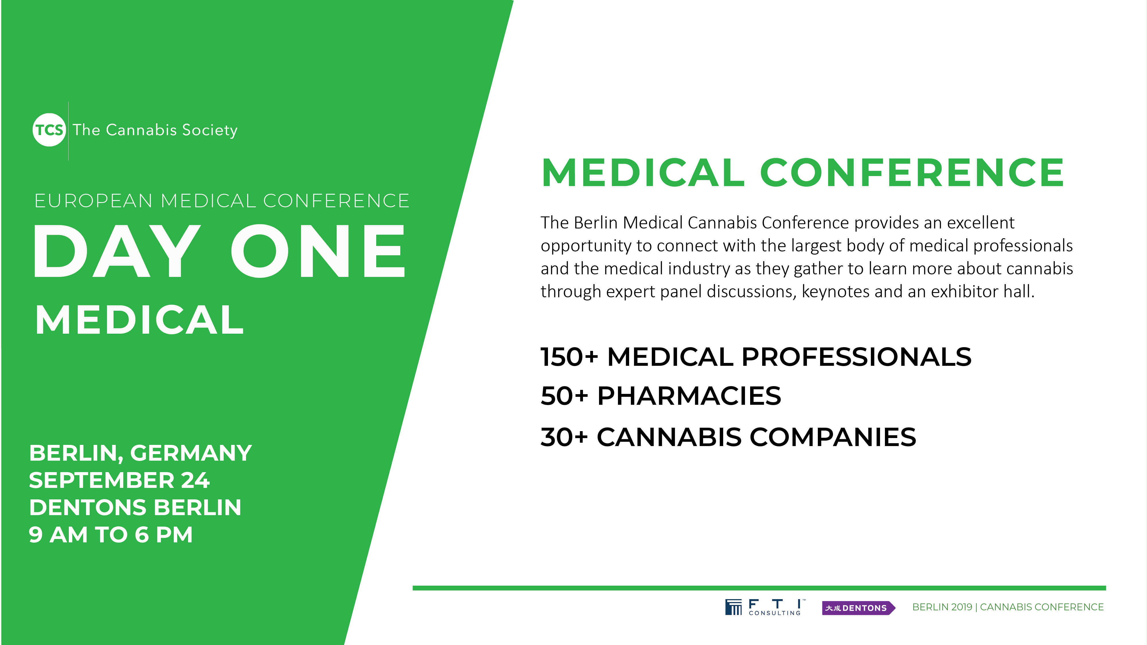 The European Medical Cannabis Conference - Events - Universe
