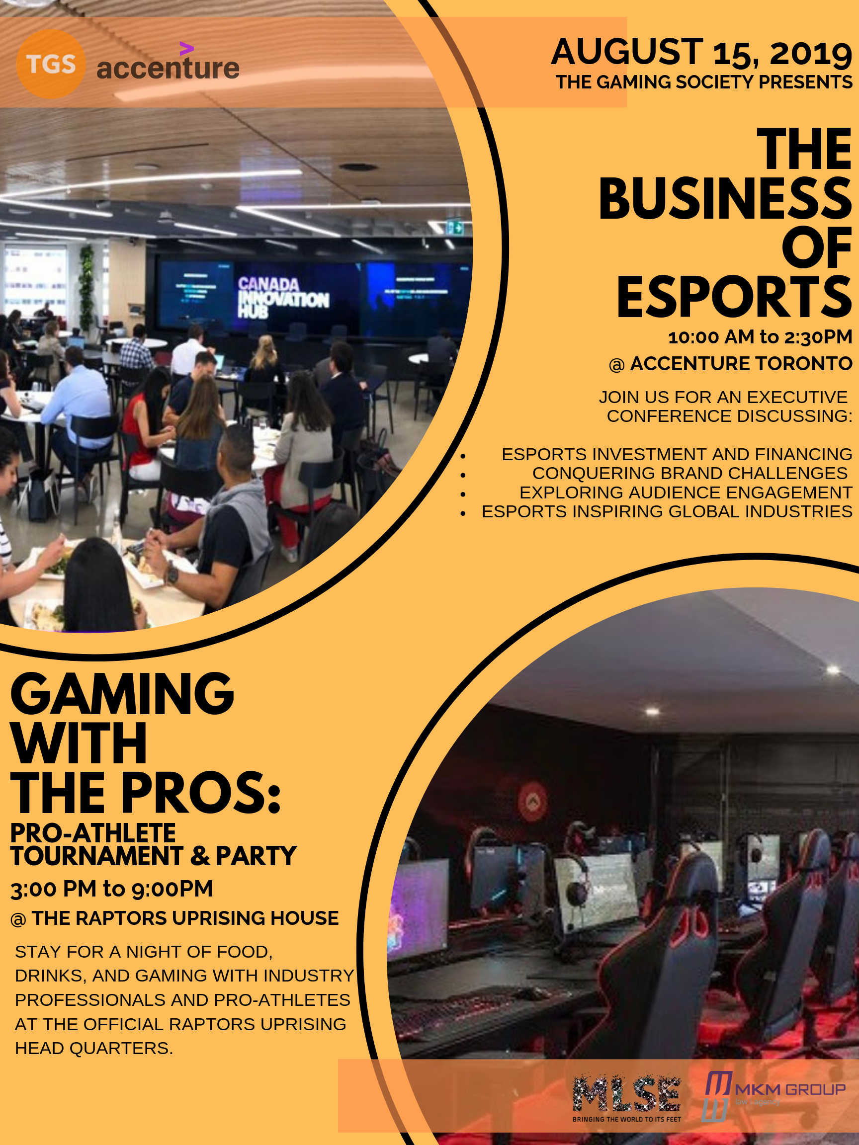 TGS Presents: The Business of Esports & Gaming with the Pros (invite only)