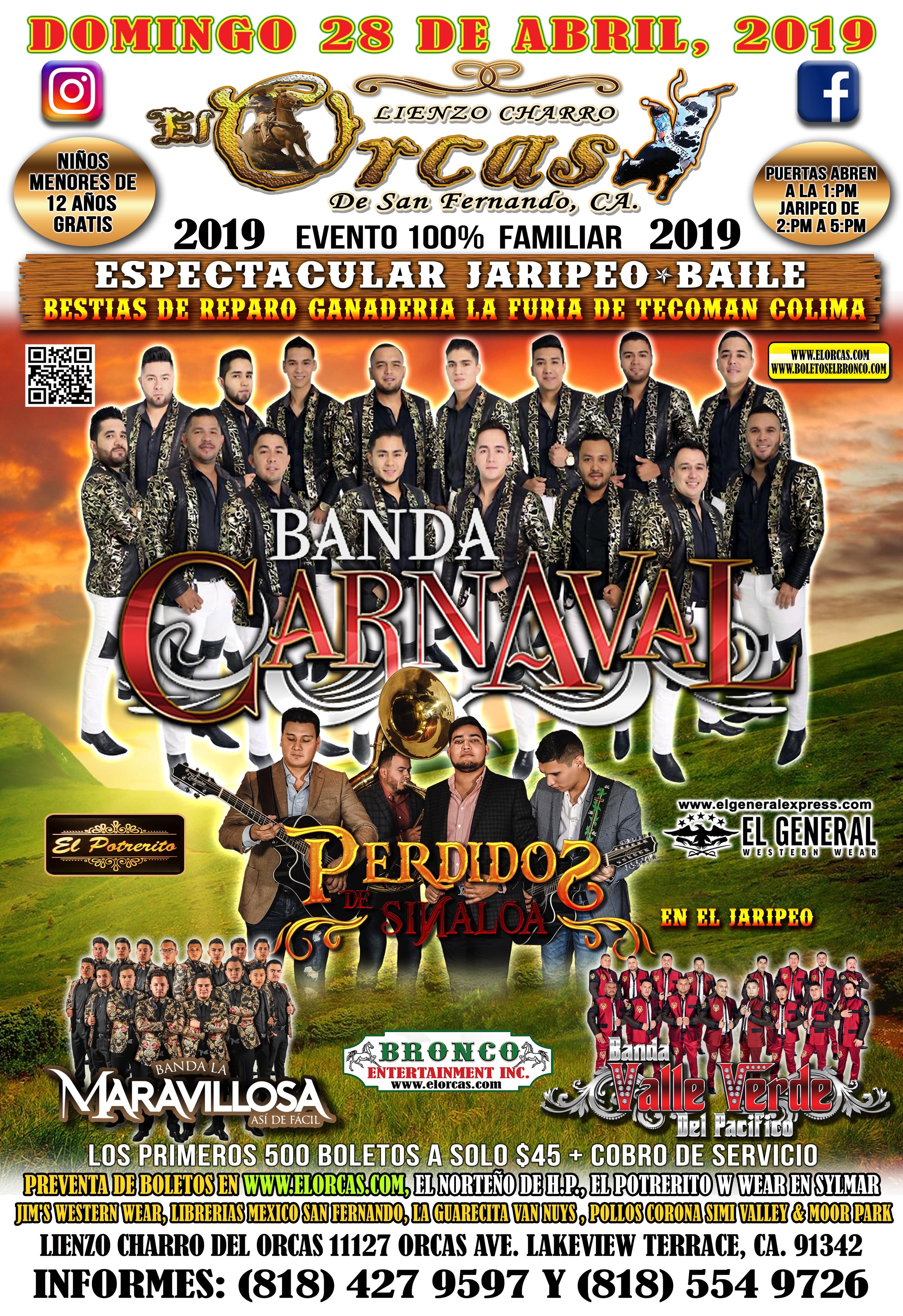 Gran Jaripeo - Banda Carnaval & Perdidos de Sinaloa