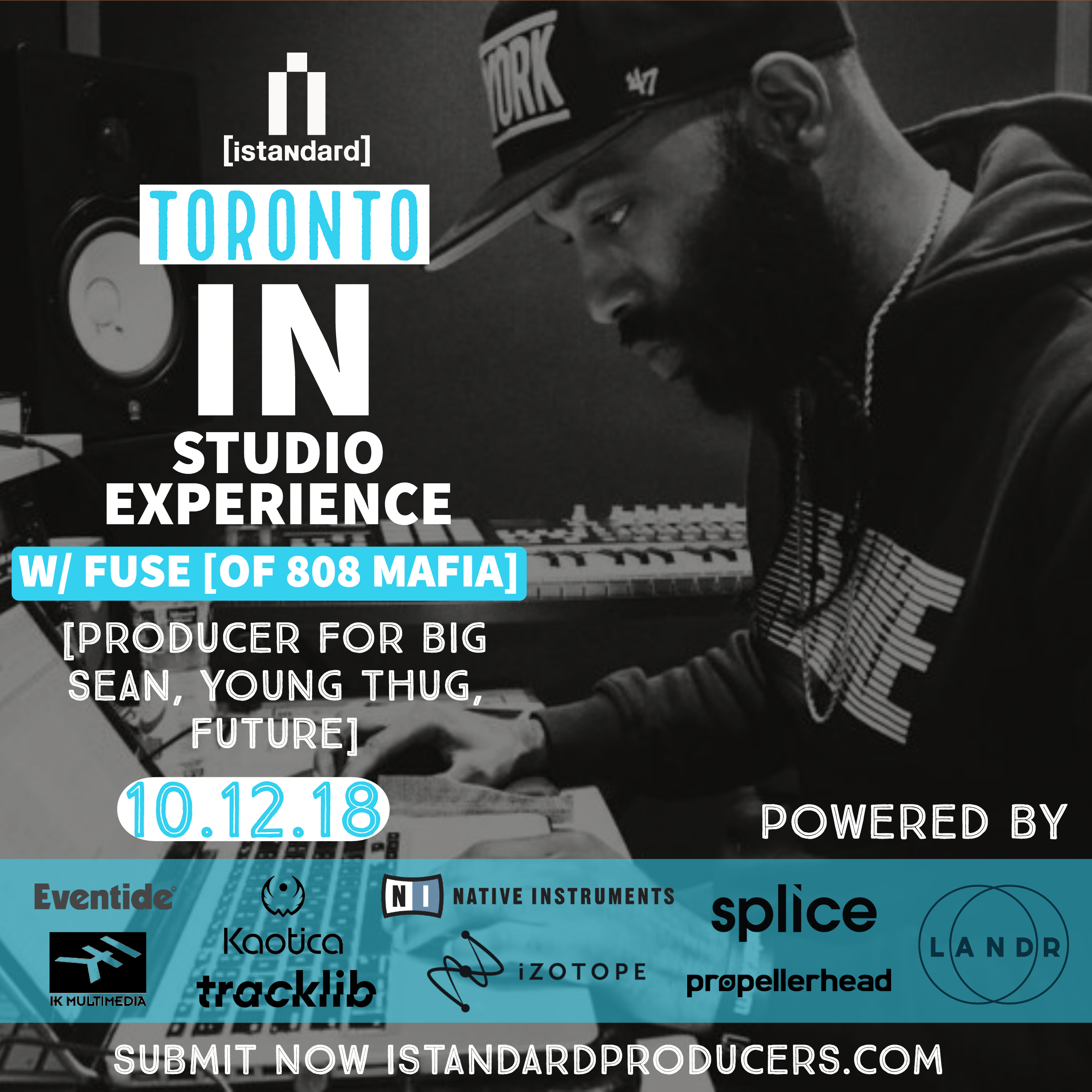 istandard in-studio experience - toronto] - Events - Universe