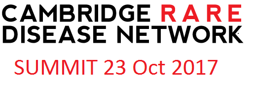 Cambridge Rare Disease Network - Cambridge Rare Disease Summit Oct 23 2017, Robinson College 2