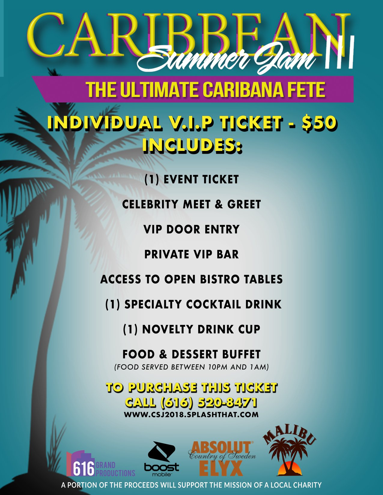 Caribbean Summer Jam III: VIP Packages - Events - Universe