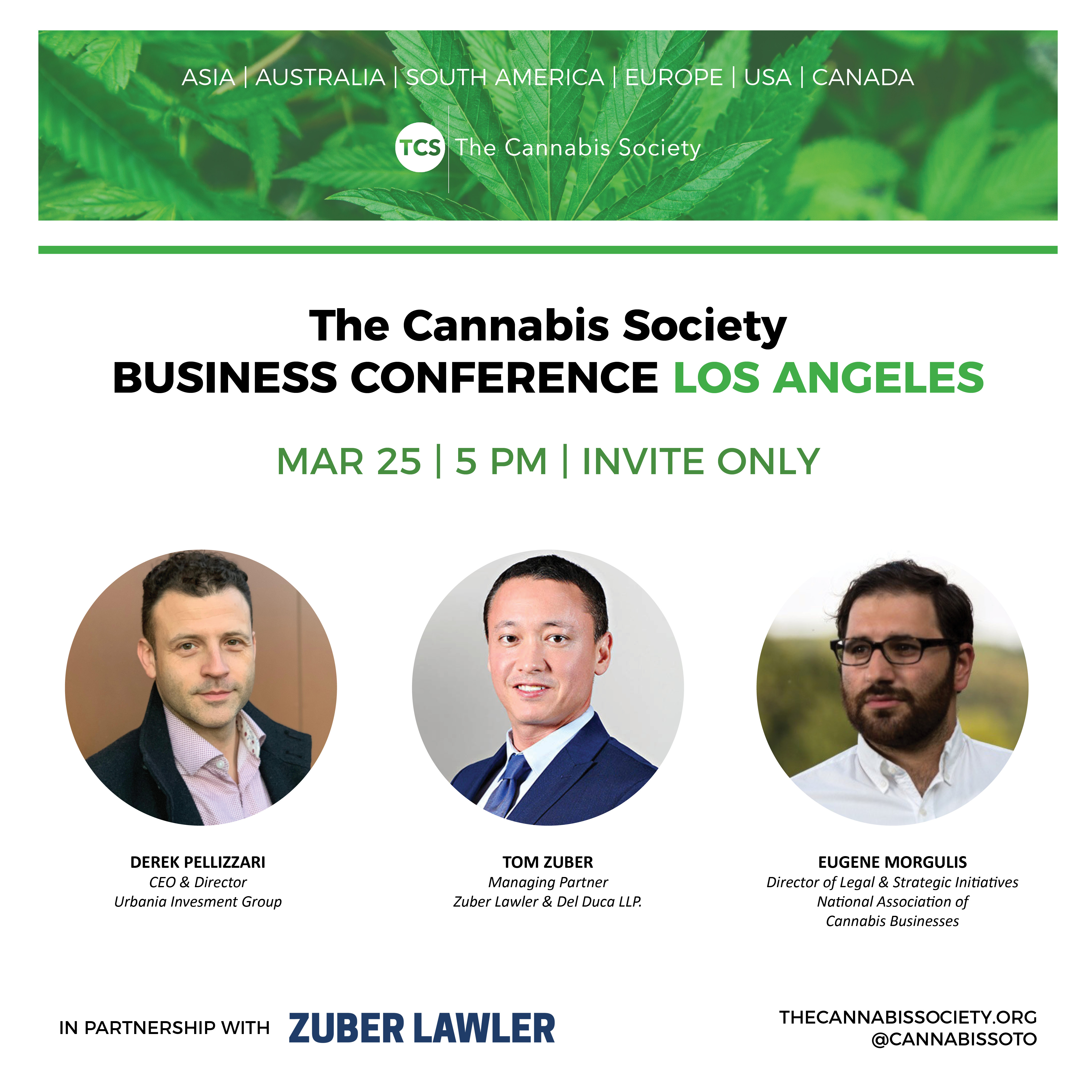 The Cannabis Society Business Conference LA (Invite Only