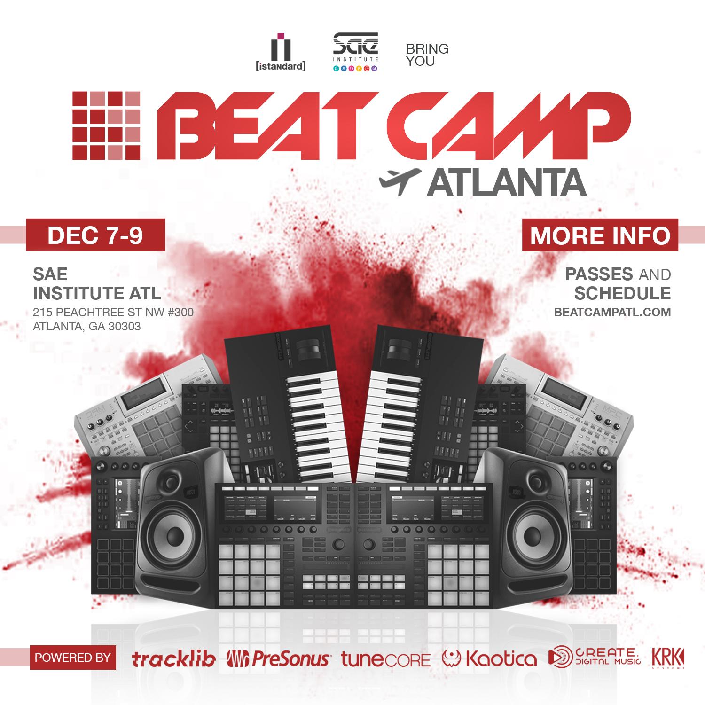 [istandard] Beat Camp ATL 12/7 - 12/9