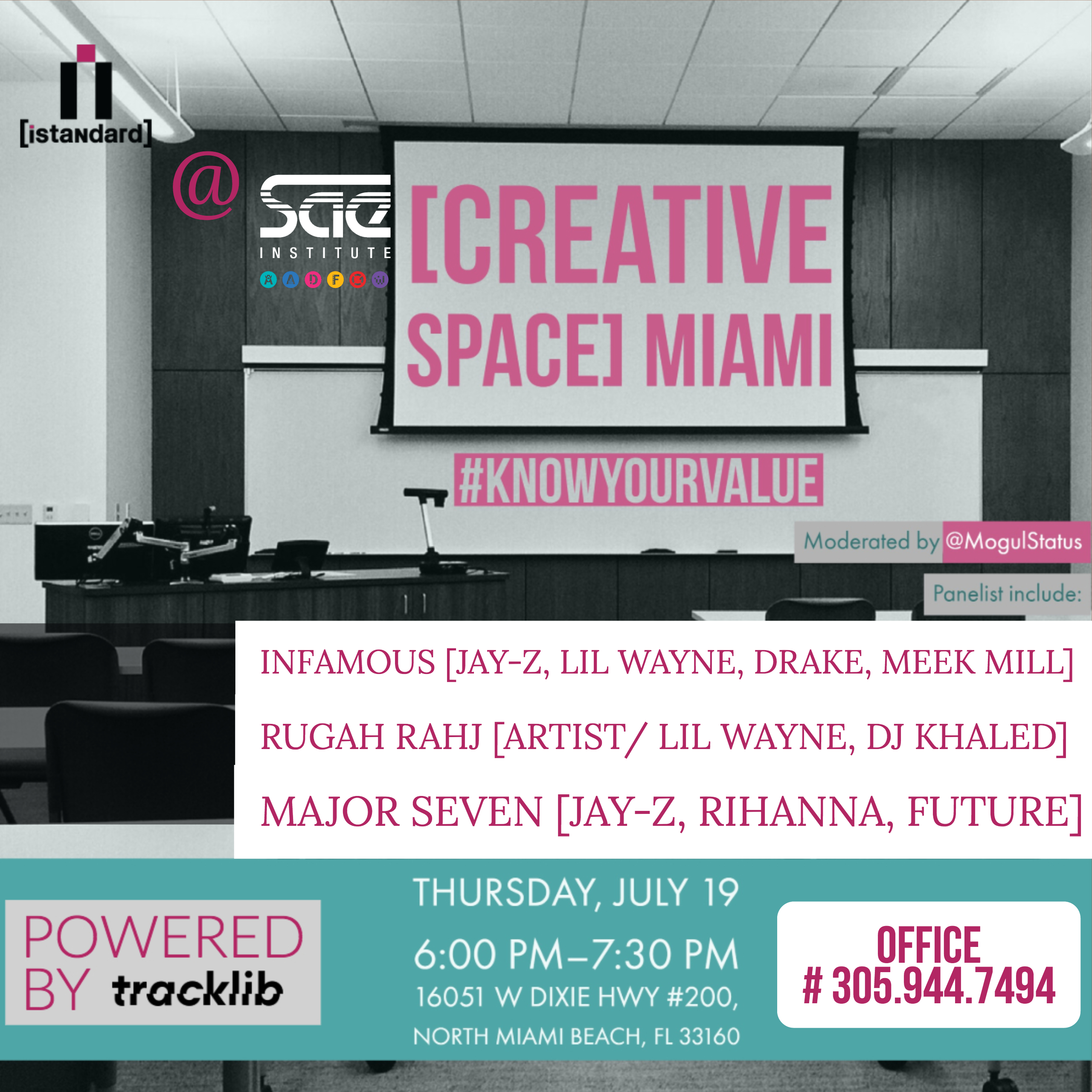 Miami [creative space] - #KnowYourValue