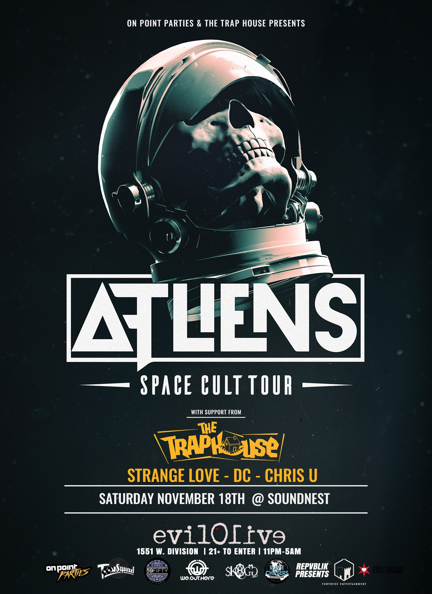 ATLiens ~Space Cult Tour~ @SoundNest w/ The Trap House & StrangeLove ...