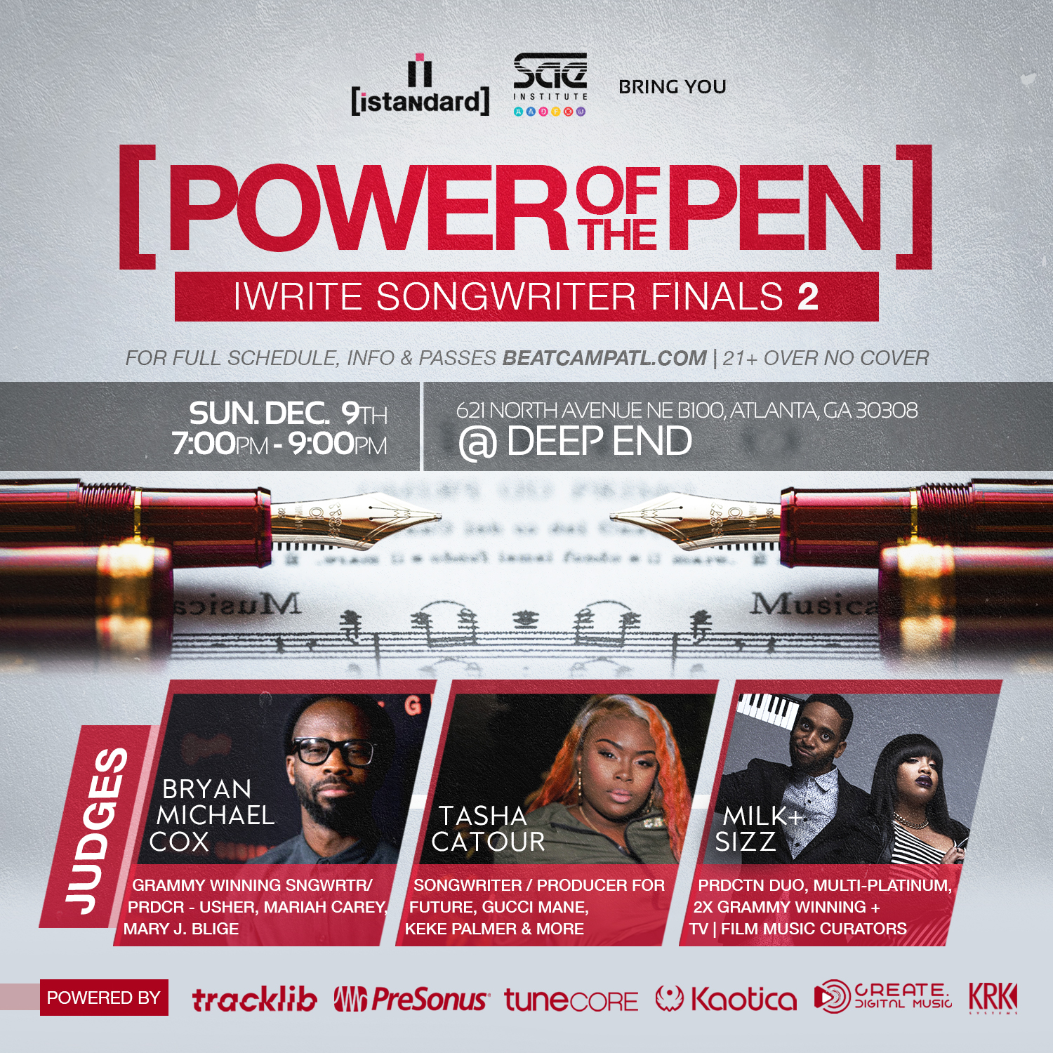 [Power Of The Pen] iWrite Songwriting Finals 2