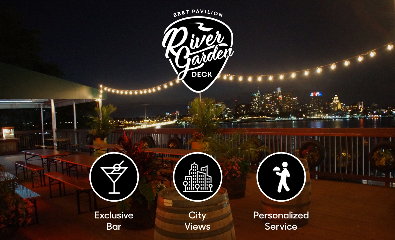 BB&T Pavilion River Garden Deck - Zac Brown Band - Universe
