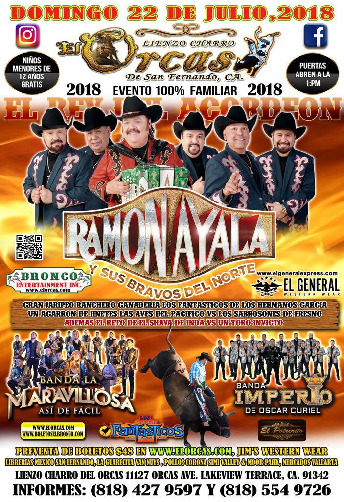 Gran Jaripeo - El Rey de la Acordion Ramon Ayala! - Events