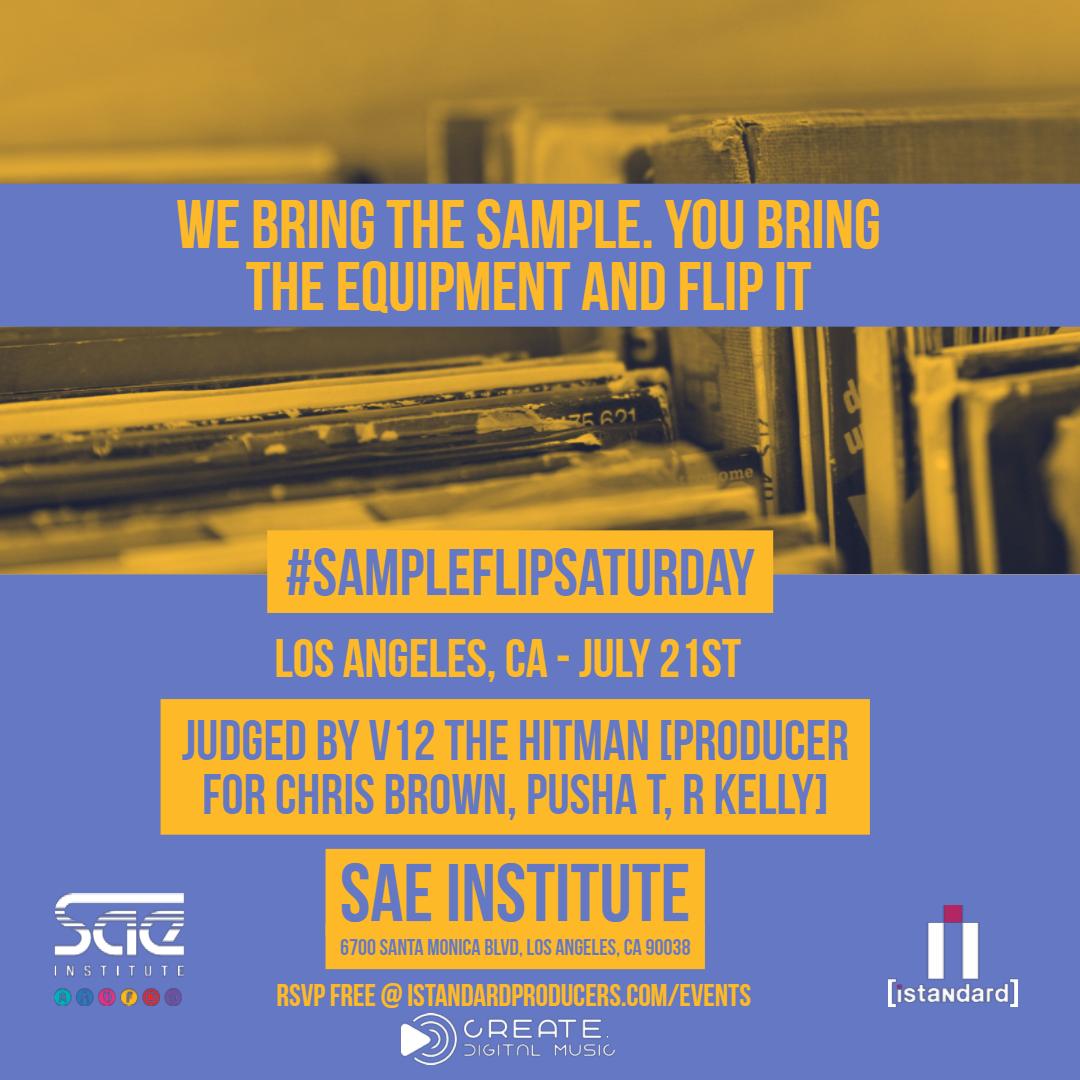 #SampleFlipSaturday - LA