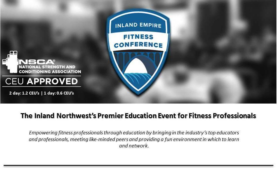 The Inland Empire Fitness Conference 2019 - Events - Universe