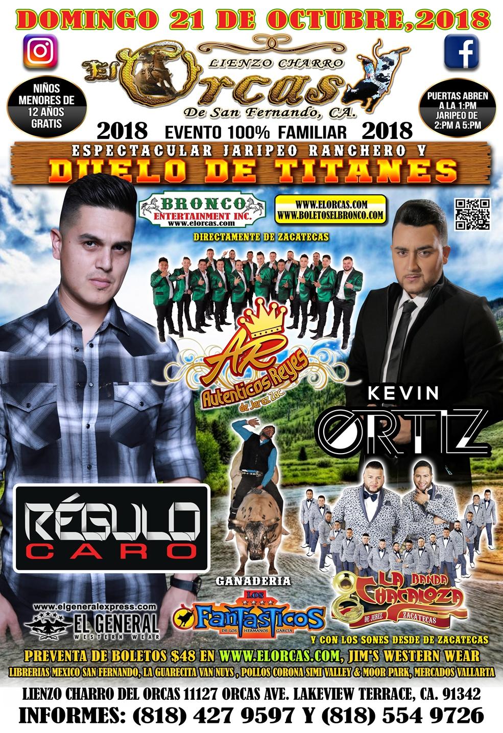 Gran Jaripeo - Kevin Ortiz & Regulo Caro! - Events - Universe