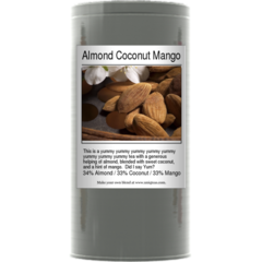 Almond Coconut Mango