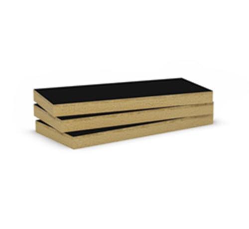 3 in x 24 in x 48 in ROCKWOOL CAVITYROCK Black Semi-Rigid Insulation Board