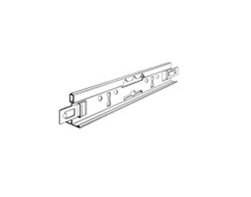 15/16 in x 12 ft Chicago Metallic 1830 HDG-60 Steel with Aluminum Cap Main Tee - 1830.01AH
