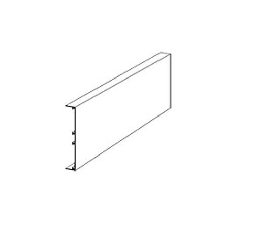 12 in x 12 ft Rockfon Infinity Standard Perimeter Straight Trim - White