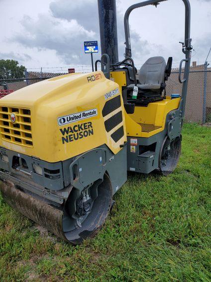 2016 Wacker Neuson RD27-100 Ride-On Roller