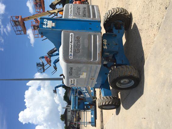 2012 Genie S40-D. Boom Lift