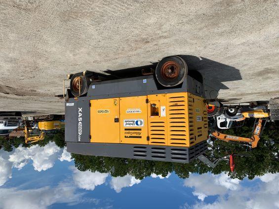 2014 Atlas Copco XAS1600 Air Compressor
