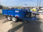 2017 Anderson Trailers D7106T GAS Trailer