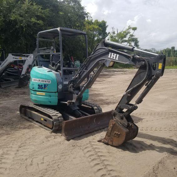 2016 IHI 25V4 Mini-Excavator
