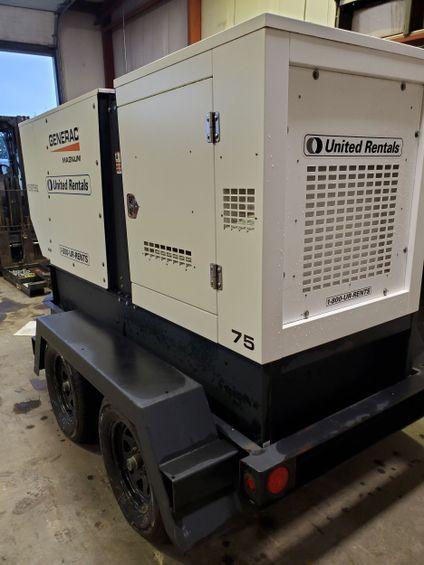 2016 Magnum Pro MMG75D Diesel Generator