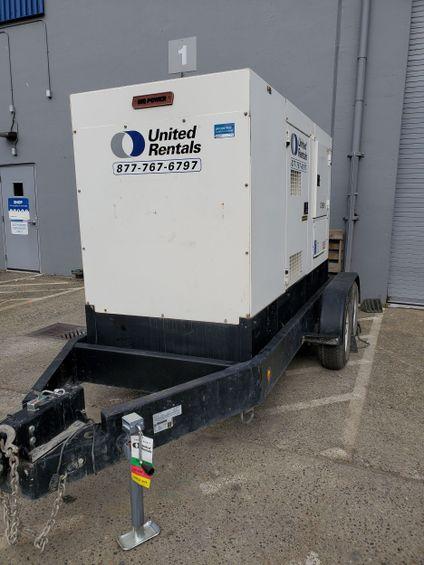 2015 Multiquip DCA125SSJU4I Diesel Generator