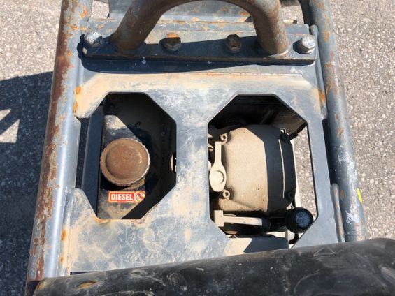 2018 Wacker Neuson DPU5545He Plate Compactor
