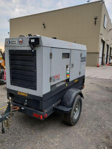 2018 Wacker Neuson G 50 Diesel Generator