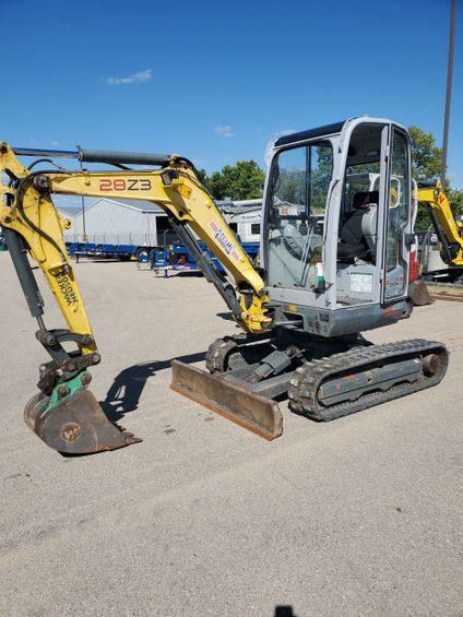 2012 Wacker Neuson 28Z3 Mini-Excavator