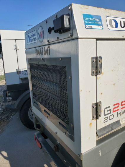 2016 Wacker Neuson G25 T4F Diesel Generator