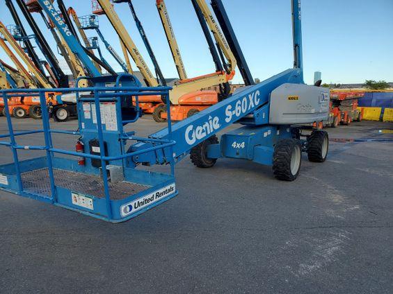 2013 Genie S-60XC Boom Lift