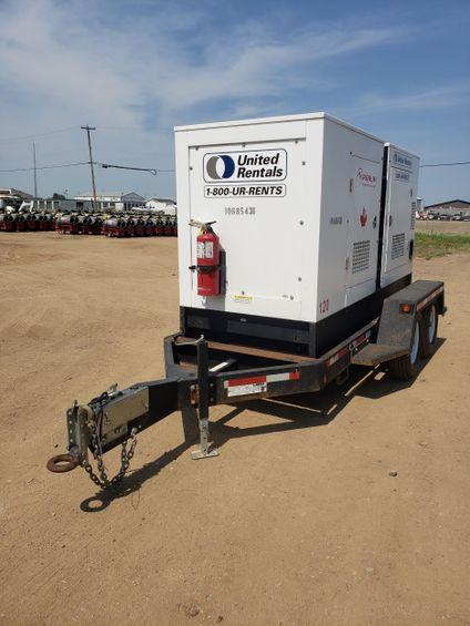 2017 Magnum Pro MMG120T3 Diesel Generator
