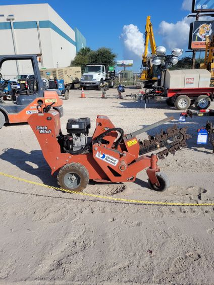 2017 Ditch Witch C12 Trencher