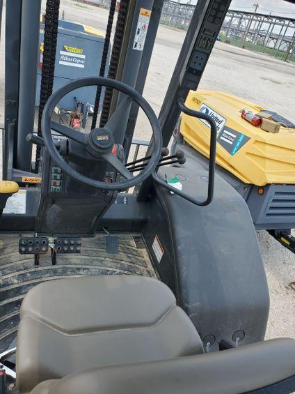 2017 Case 588H Rough Terrain Forklift