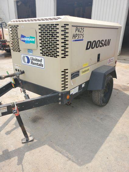 2016 Doosan P425/HP375WCUT4 Air Compressor