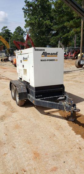 2018 Allmand MP40 Diesel Generator