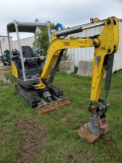 2015 Wacker Neuson ET20 Mini-Excavator