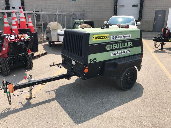 2017 Sullair 185DPQ-KU Air Compressor