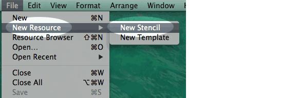 screen shot of a new stencil