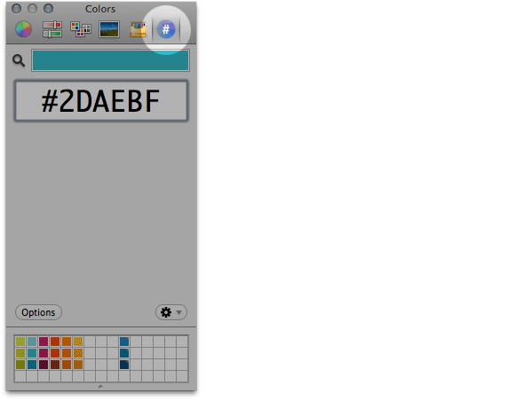 Screen shot of the hex colorpicker. Seriously, it's handy for web design.