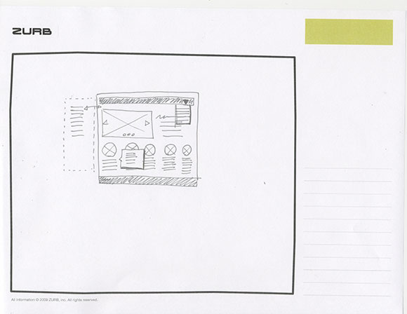 Scan of a miniscule sketch.