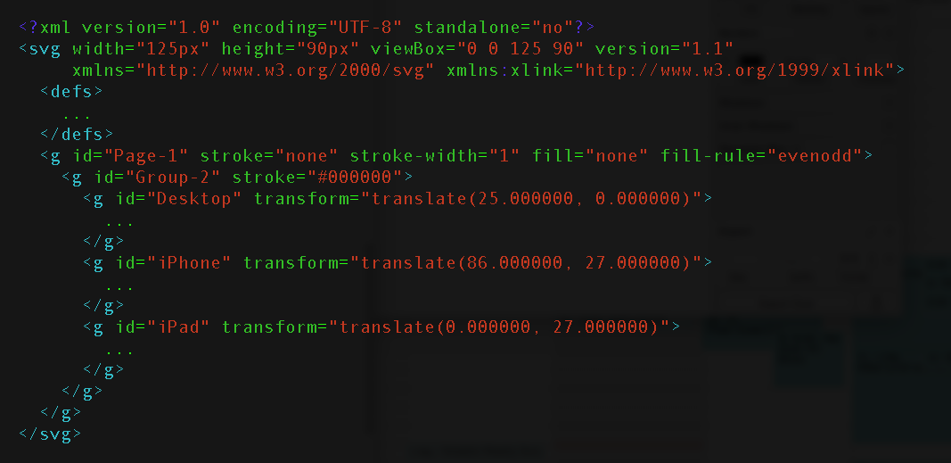 image of device svg code