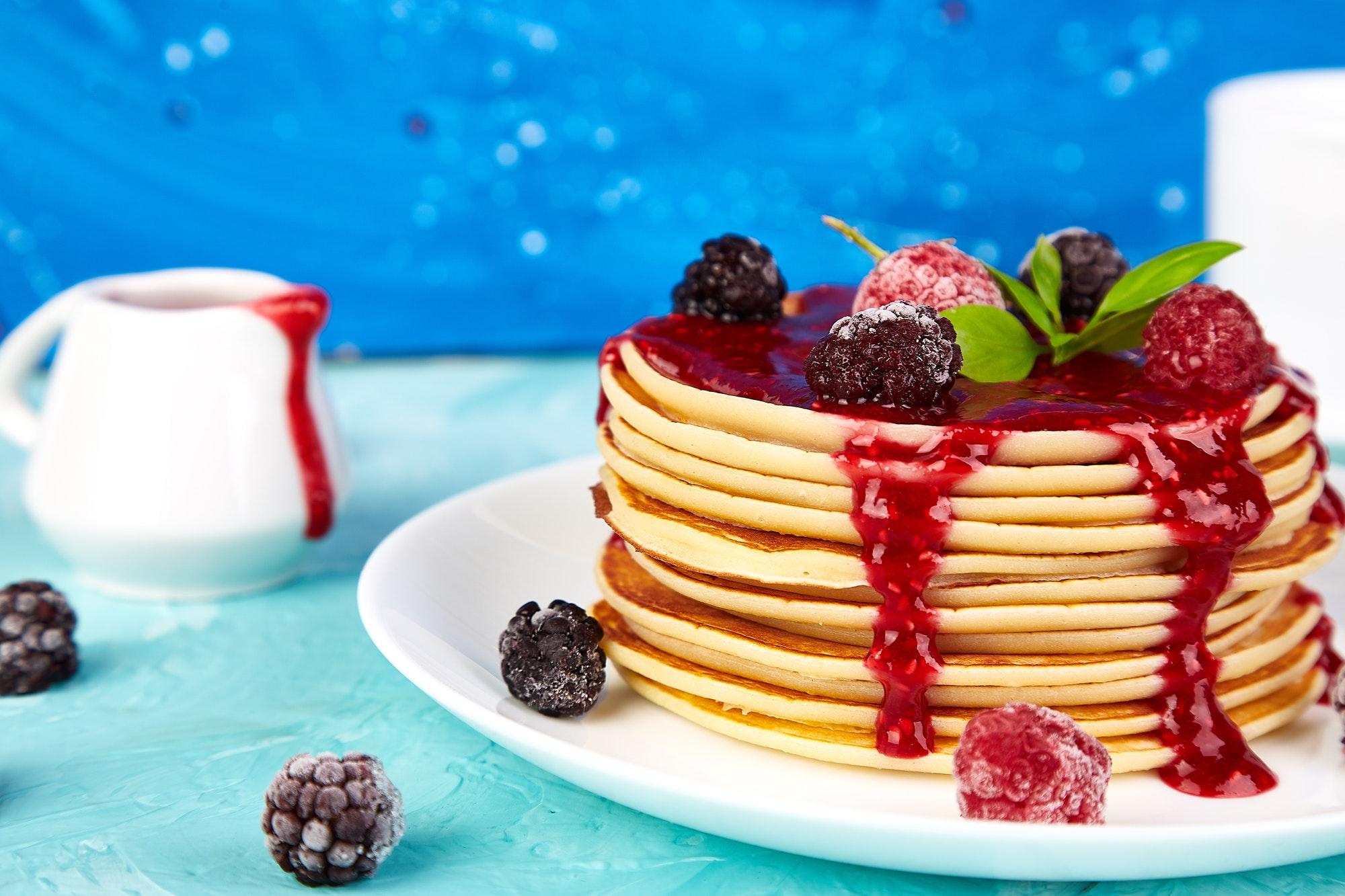 Pancake for breakfast