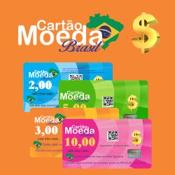 Cartão Moeda Brasil