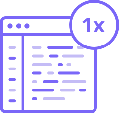 Single codebase Icon