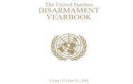 Web version of the 2012 Disarmament Yearbook (Part II) now available online