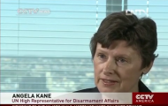 CCTV (China) speaks to High Representative Kane about situation in Syria. Also discusses Iran's nuclear programme