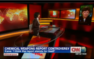 High Representative Kane Interviewed by Christiane Amanpour on the Secretary-General's report concerning allegations of the use of chemical weapons in Syria